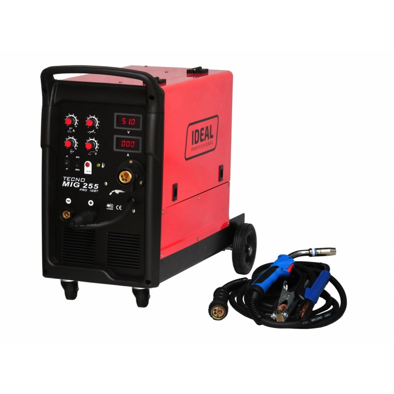 Zváračka Inverter MIG TECNOMIG 255 4x4 PRO MMA DIGITAL IDEAL