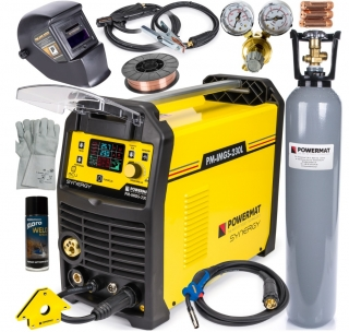Zváračka Inverter (MIG / MAG / MMA / LIFT-TIG) 230L SYNERGY SET POWERMAT